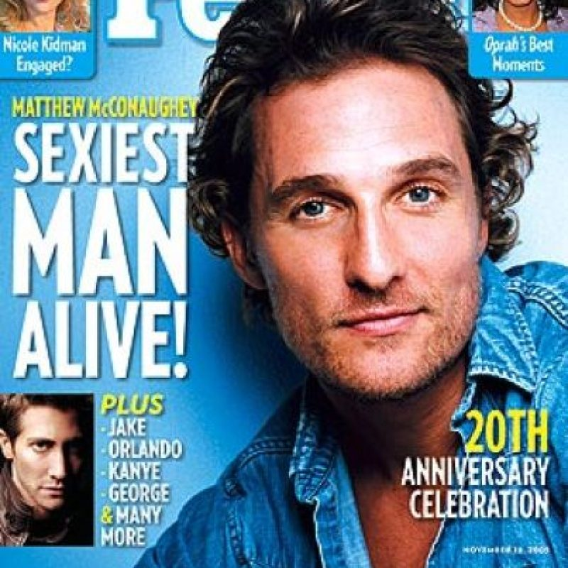 2005, Matthew McConaughey Foto: People