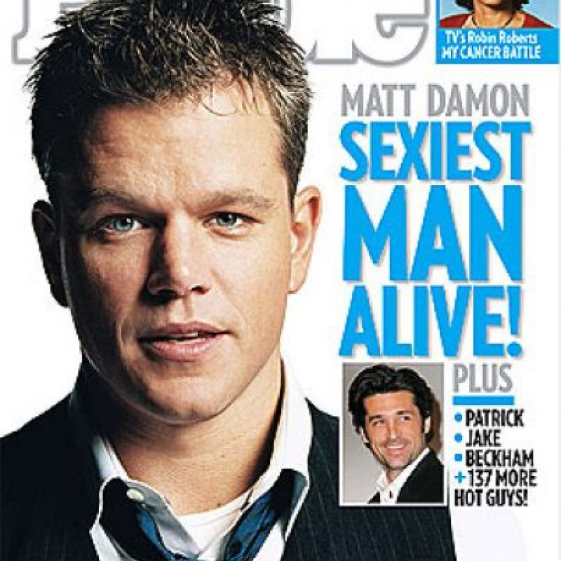 2007, Matt Damon Foto: People