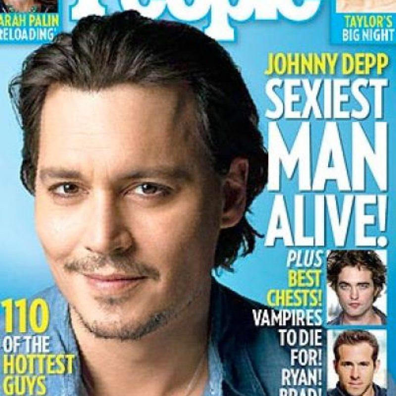 Depp también fue portada en 2009 Foto:People