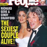 1993, Cindy Crawford y Richard Gere Foto: People