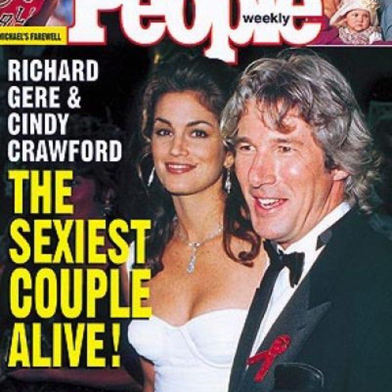 1993, Cindy Crawford y Richard Gere Foto:People