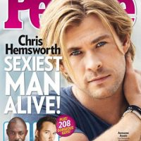 2014, Chris Hemsworth Foto: People