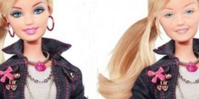 "Eddi Aguirre se hizo famoso por presentar a la famosa ""Barbie"" sin maquillaje Foto:Behance"