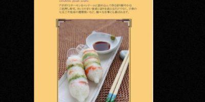 El dibujante japonés Kyosuke Kagami lanzó un libro en el que se pueden ver varias recetas gastronómicas con condones Foto:Nari Nari