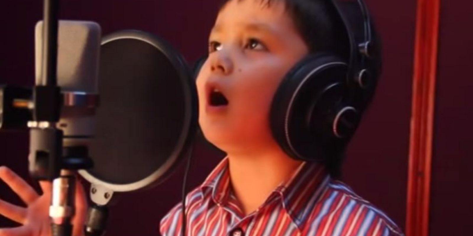 Es dueño de una gran voz Foto:Youtube No-Racism