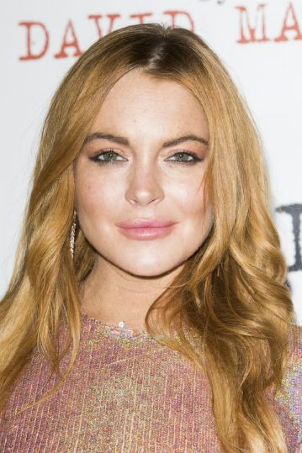 2014, Lindsay Lohan Foto:Getty Images