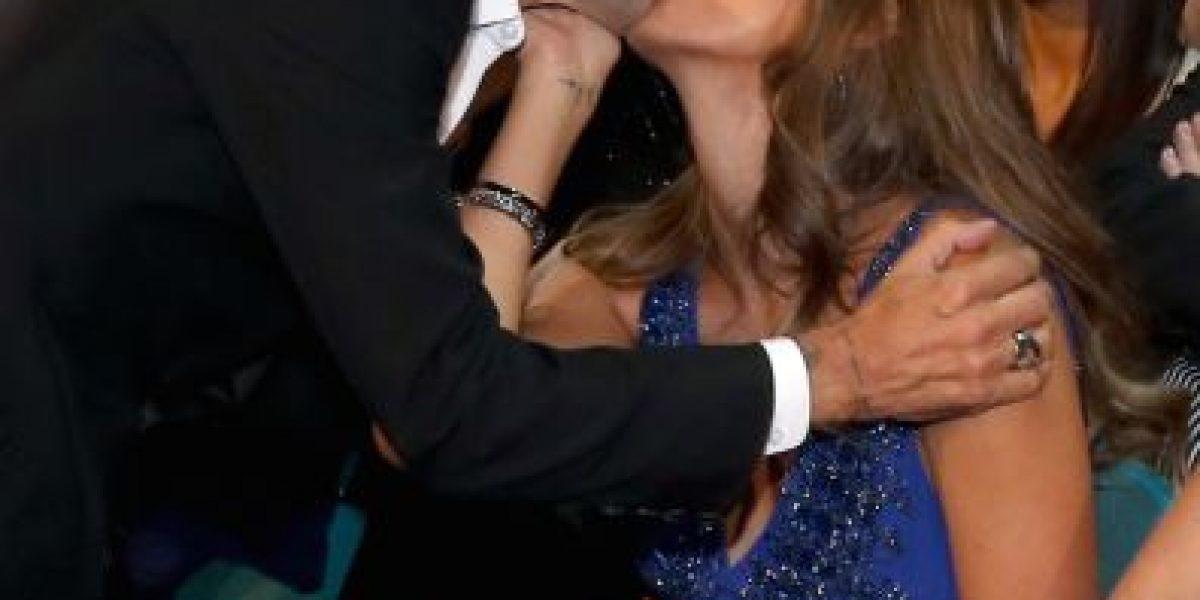 FOTOS: Marc Anthony y Shannon de Lima amorosos en los Grammy Latino