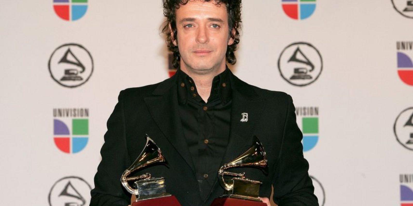 El difunto Gustavo Cerati ganó seis premios de este tipo en su carrera Foto:Getty