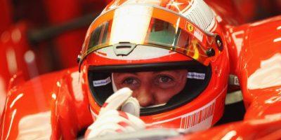 Michael Schumacher se retiró de la Fórmula 1 en 2006, aunque cuatro años más tarde regresaría con la escudería Mercedes. Foto:Getty Images