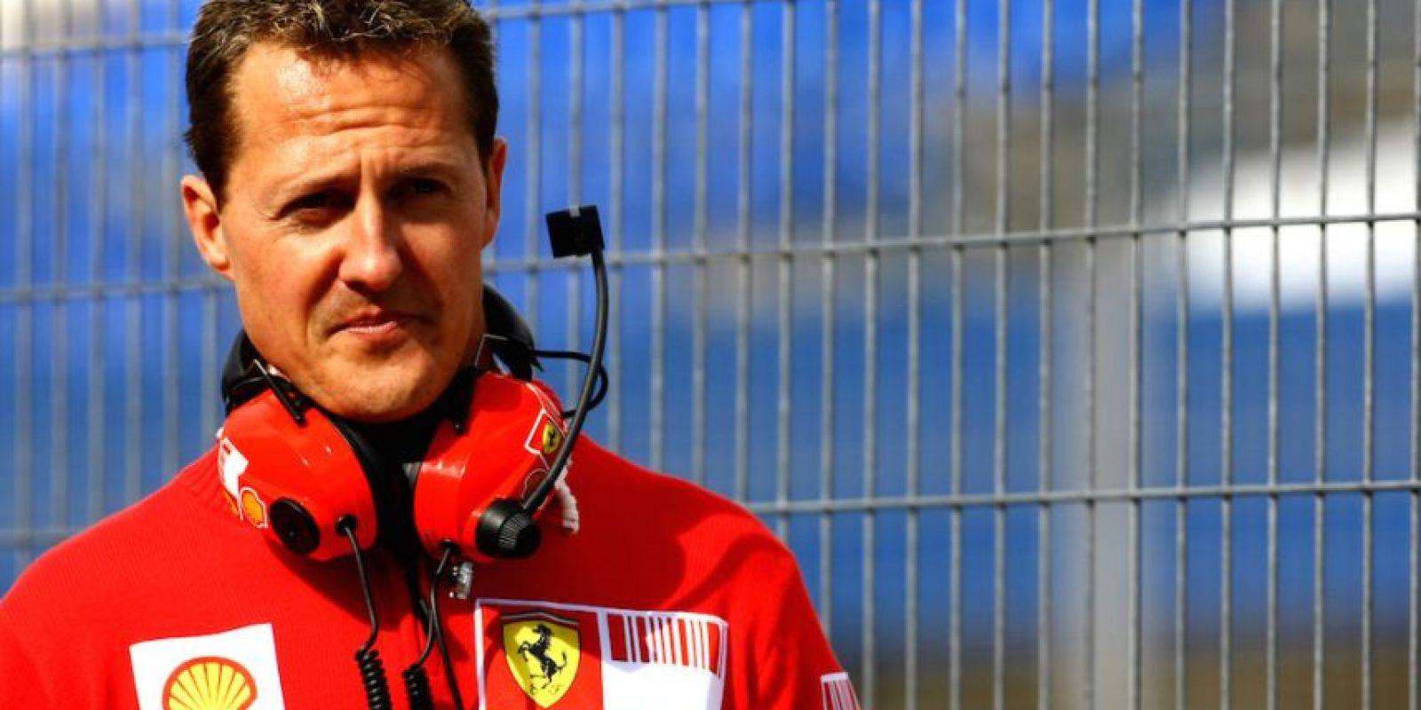 Schumacher consiguió el campeonato de la Fórmula 1 en cinco ocasiones, además de dos segundos lugares y un tercer puesto. Foto:Getty Images