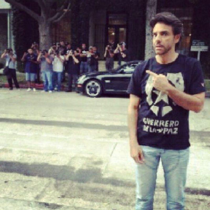 """En una entrevista con el presentador Jorge Ramos, Derbez mencionó sentirse """"avergonzado"""" por la actual situación política de México Foto:Instagram/Eugenio Derbez"""