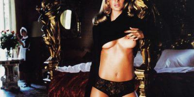 Gisele Bündchen fotografiada por Mario Testino en 2001. Foto:Pirelli