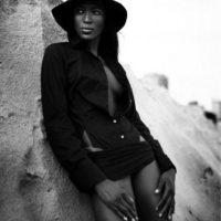 Naomi Campbell fotografiada por Patrick Demarchelier en 2005. Foto:Pirelli