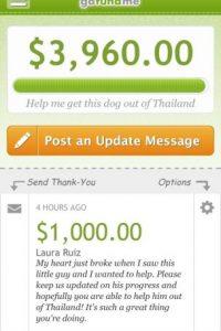 Para esto tuvo que reunir más de 7 mil dólares en Internet Foto:HelpSaveLeo/Facebook