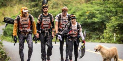 Perro callejero acompañó a un equipo de atletismo por 400 kilómetros