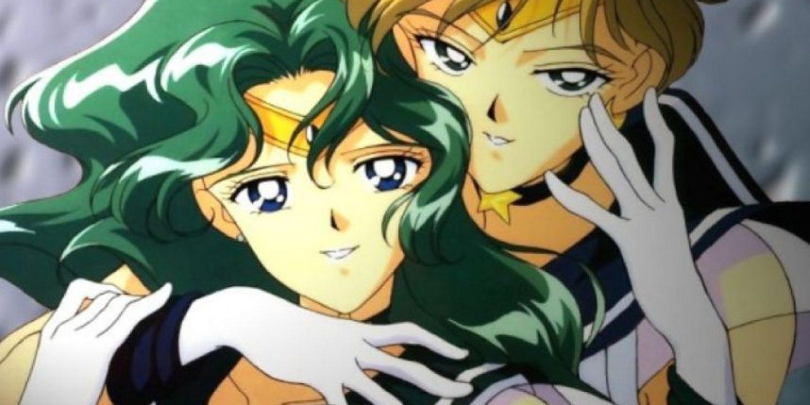 """Haruka y Michiru, de """"Sailor Moon"""" Foto:Toei"""