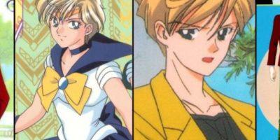 Haruka se viste como hombre, es Sailor Urano. Foto:Toei