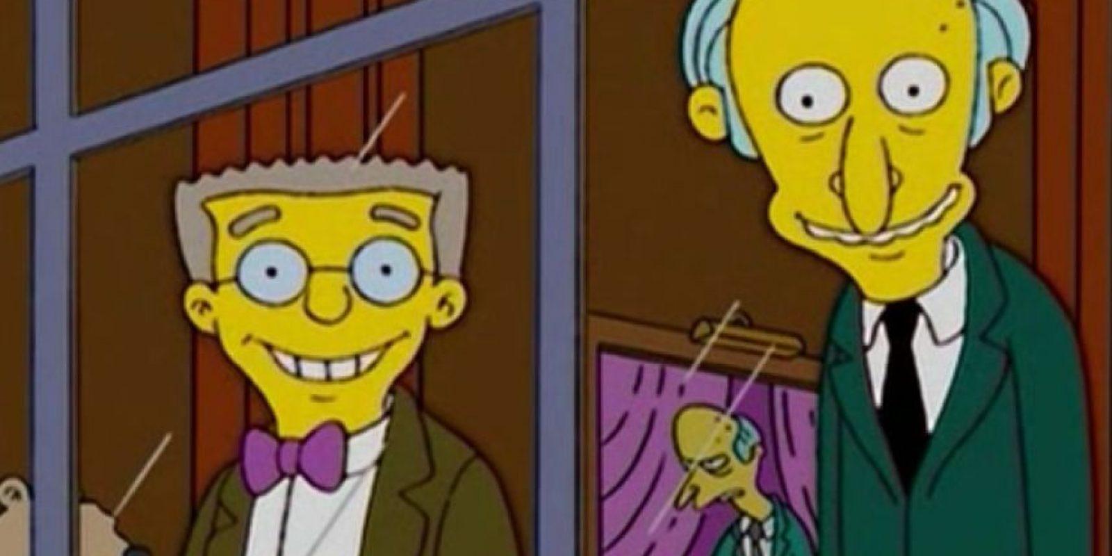 Smithers siempre ha estado enamorado de su jefe, el Sr. Burns Foto:Fox