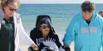 Su familia tampoco pudo costearle el viaje. Foto:Perdido Beach Resort