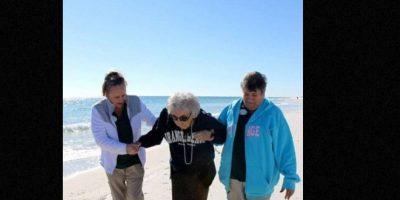 Rudy Holt nunca pudo ir al mar. Foto:Perdido Beach Resort