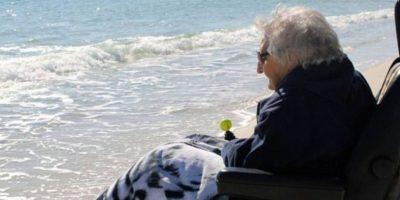 A sus 100 años, su sueño se hizo realidad. Foto:Perdido Beach Resort