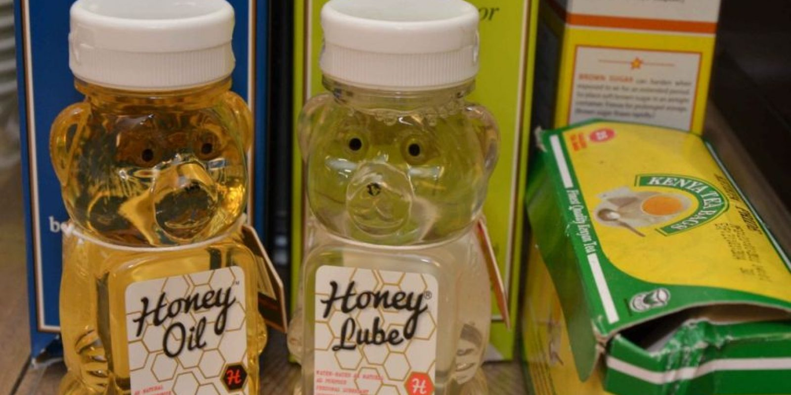 Los lubricantes Honey Oil y Honey Lube se encuentran en el mercado por 13 y 15 dólares Foto: SexToys