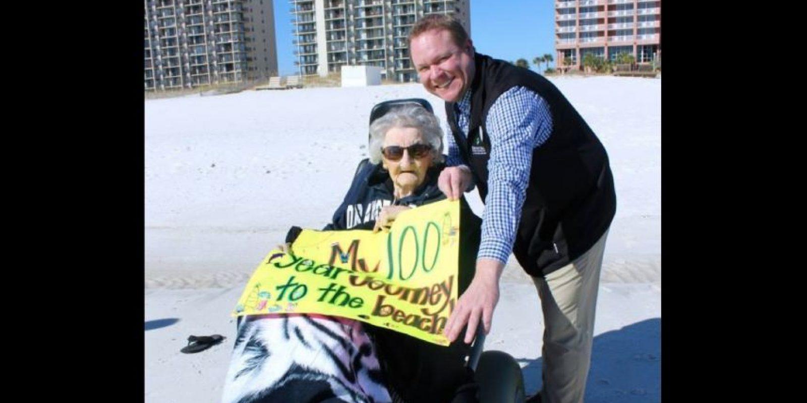 Ella vivió en Tennessee, en una granja Foto:Perdido Beach Resort