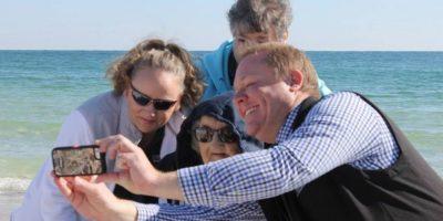 Nunca tuvo la oportunidad de ir al mar Foto:Perdido Beach Resort