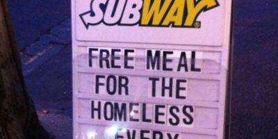Subway hace esto Foto:Tumblr