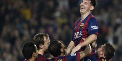 Messi es el máximo goleador histórico de la liga española