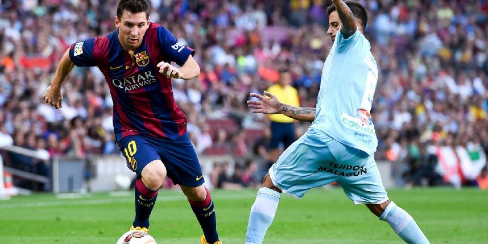 Único futbolista en la historia en ganar la distinicón al Goleador mundial más efectivo en primera división (2011 y 2012) Foto:Getty Images