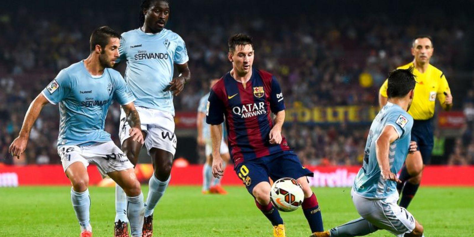 Máximo goleador no europeo en competiciones de la UEFA: 72 goles (en 93 partidos) (2014-15) Foto:Getty Images