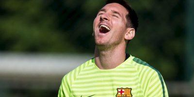 rimero en marcar en una vuelta entera en la Liga: 30 goles en 19 jornadas seguidas en la Liga 2012/13, de la 11 a la 29. Foto:Getty Images