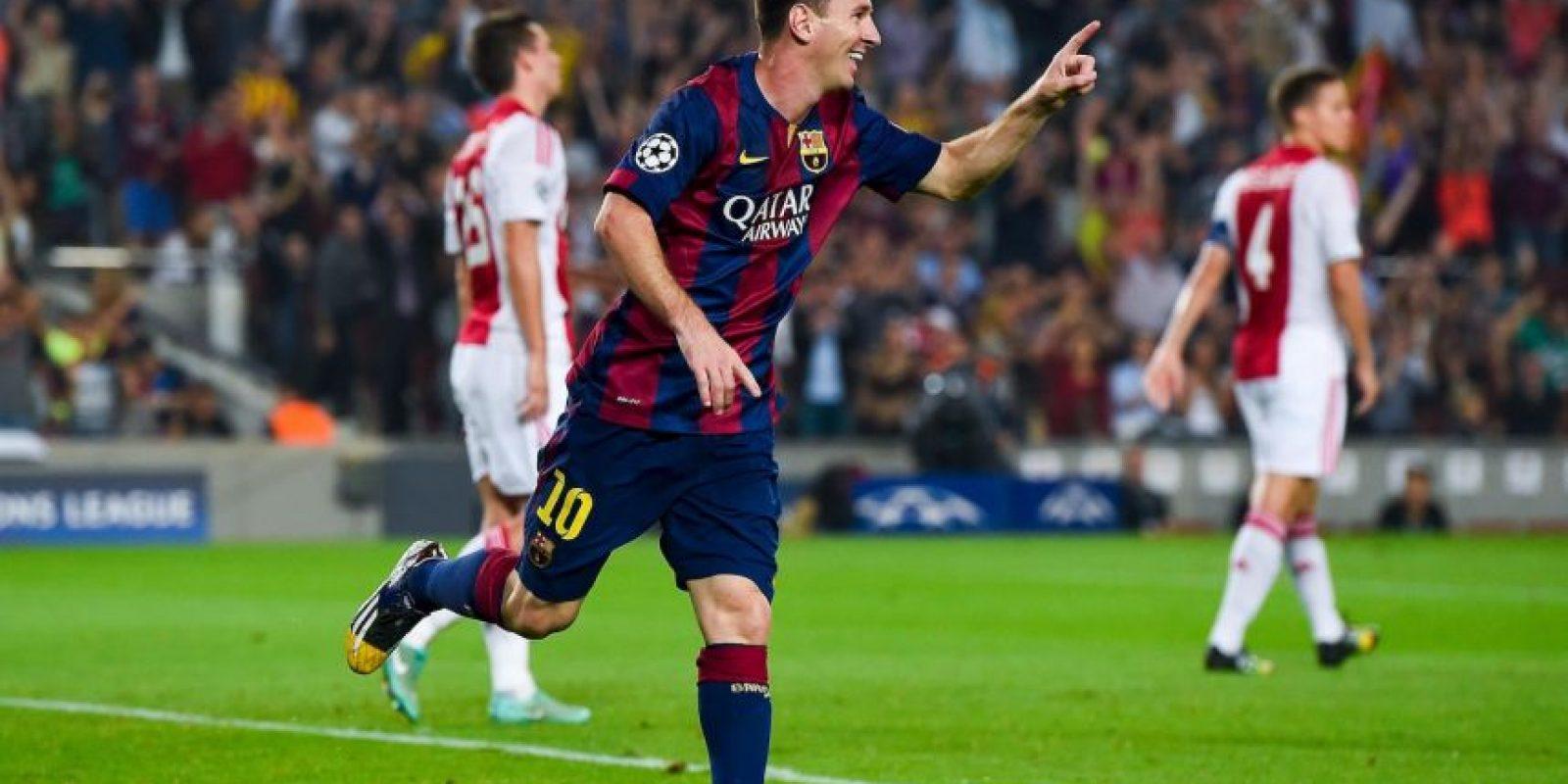 Único jugador en lograr en una misma temporada el Balón de Oro, el FIFA World Player, el Trofeo Pichichi y la Bota de Oro (2011-12) Foto:Getty Images