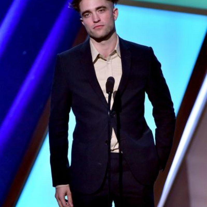 En el mismo año la revista Forbes nombró a Pattinson como una de las celebridades más poderosas del mundo Foto:Getty Images
