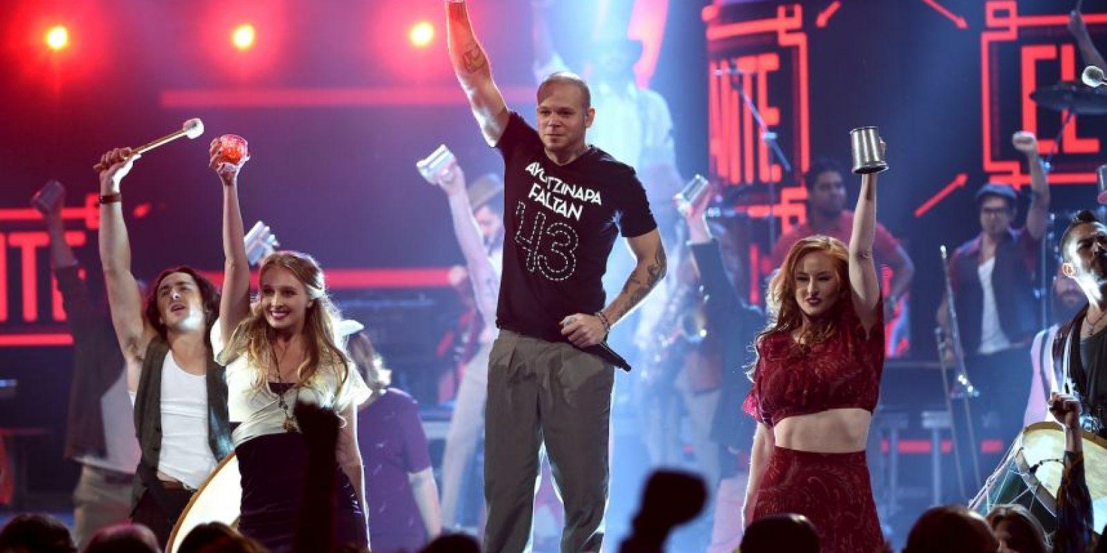 Calle 13 es una banda de rap y rock fusión de Puerto Rico Foto:Getty Images