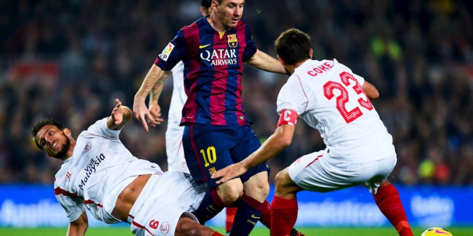 Máximo goleador en una Liga: la temporada 2011/12, con 50 goles. Foto:Getty Images