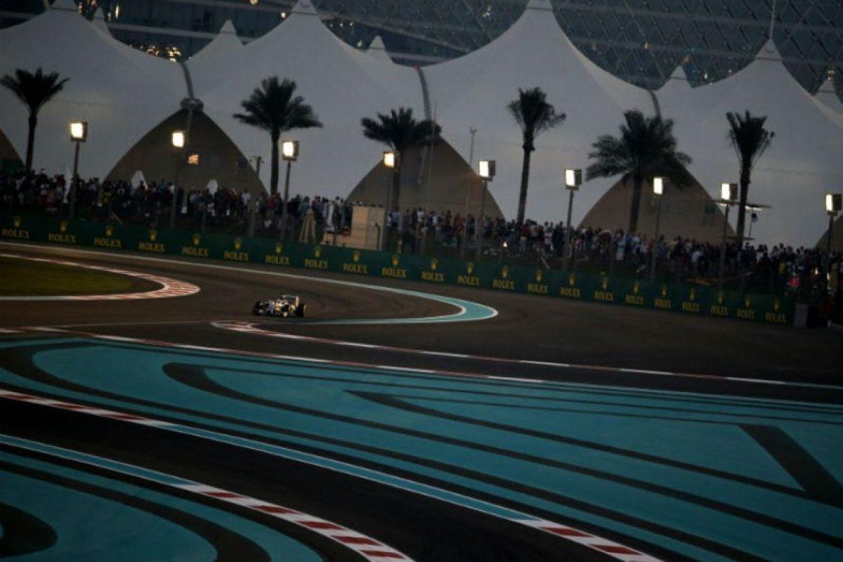 Hamilton ganó la última competencia en Abu Dabi. Foto:AFP
