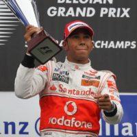 El 29 de agosto de 2010 se impuso en el GP de Bélgica Foto:Getty Images