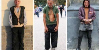 """Slavik, el vagabundo más """"fashion"""" del mundo"""
