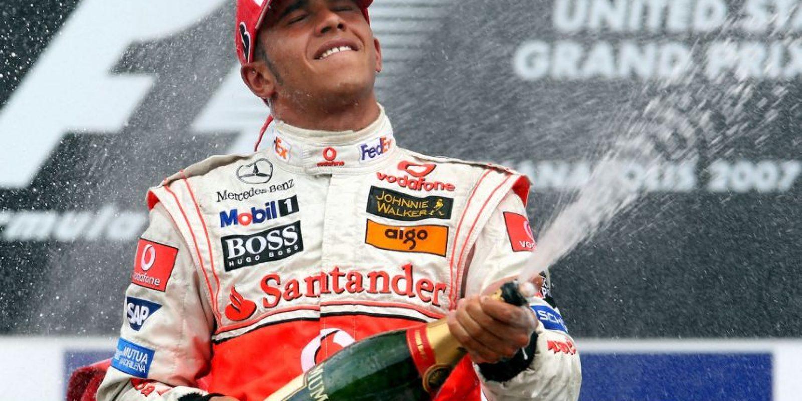 El 17 de junio de 2007 ganó en el GP de Estados Unidos Foto:Getty Images