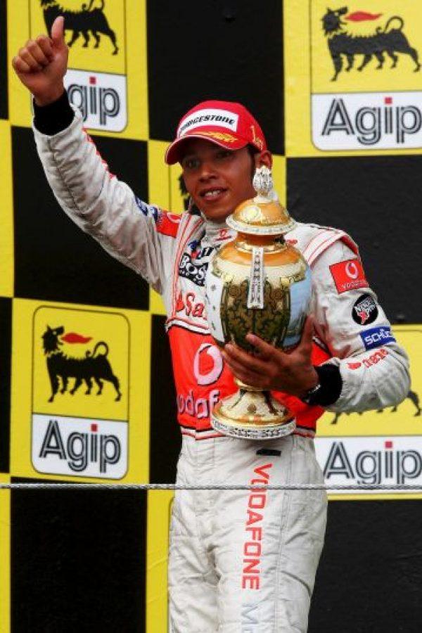 El 5 de agosto de 2007 venció en el GP de Hungría Foto:Getty Images