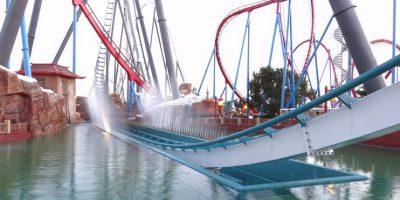 Parque: PortAventura. Localización: Salou, Tarragona, España. Altura: 76 m. Velocidad: 134 km/h. Longitud: mil 650 m. Caída: 78 m Foto:Wikimedia