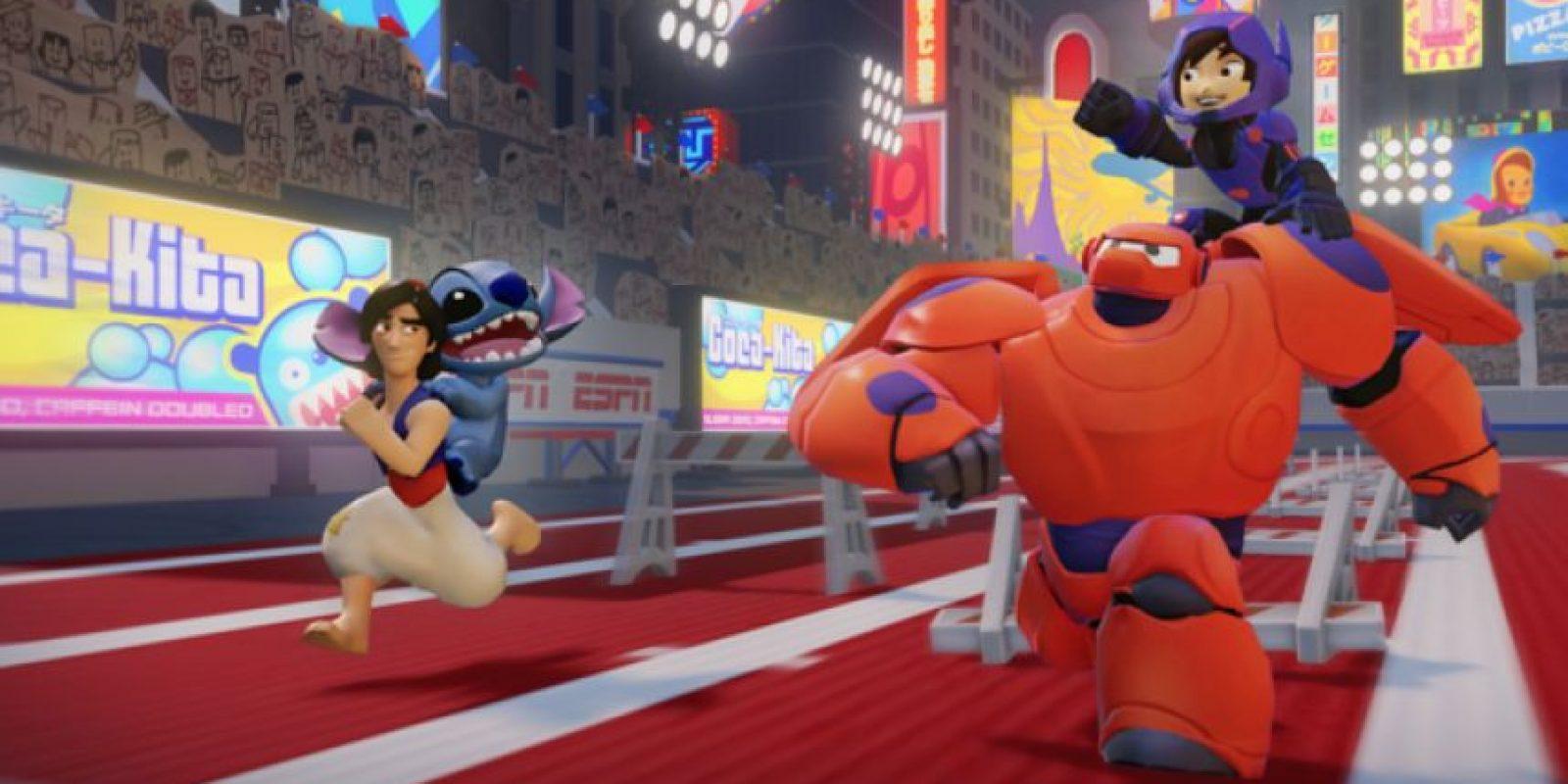 Se puede jugar con personajes clásicos de Disney Foto:Disney Infinity 2.0
