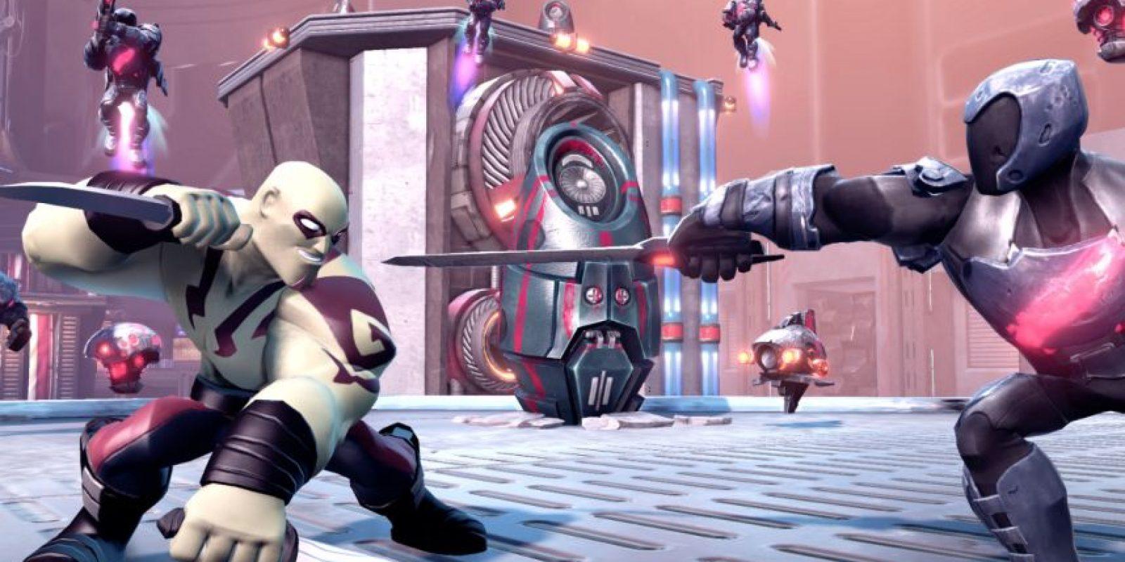 Personajes de Marvel son la nueva incorporación al juego Foto:Disney Infinity 2.0
