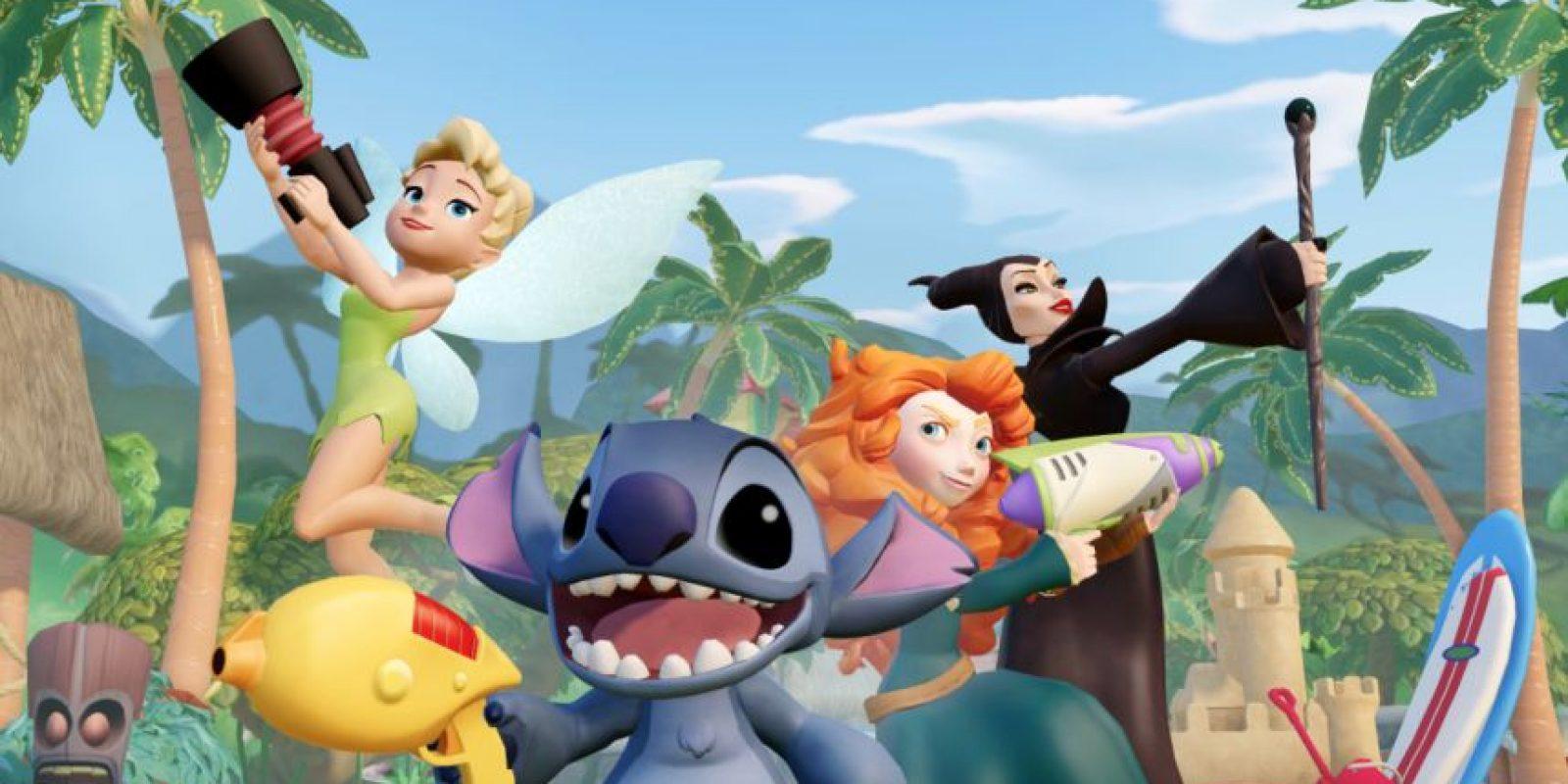 Interactúa con tus amigos en el juego Foto:Disney Infinity 2.0