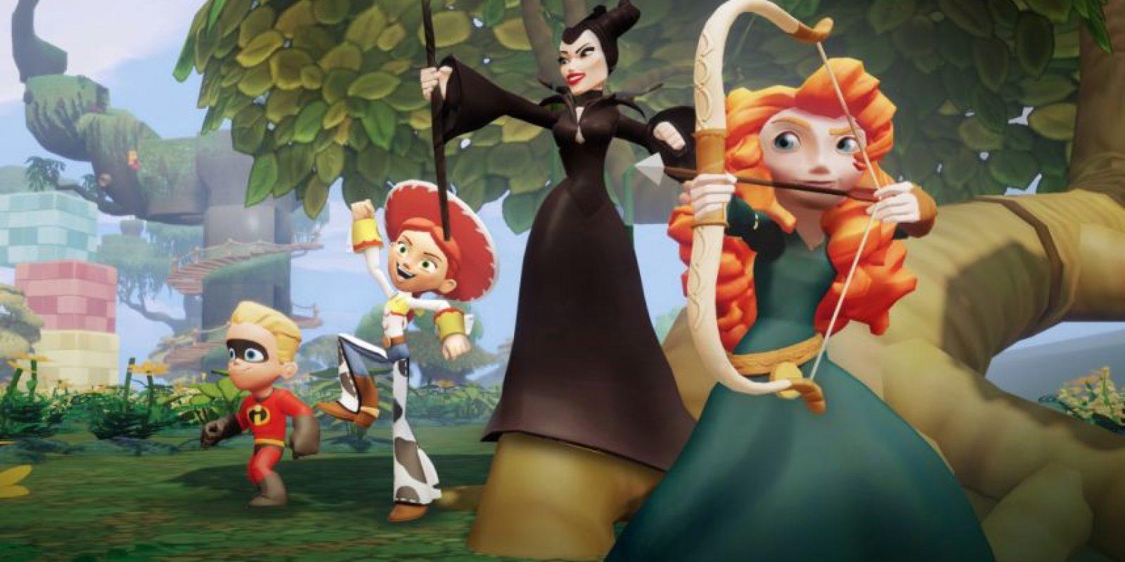 Diferentes escenarios para jugar Foto:Disney Infinity 2.0