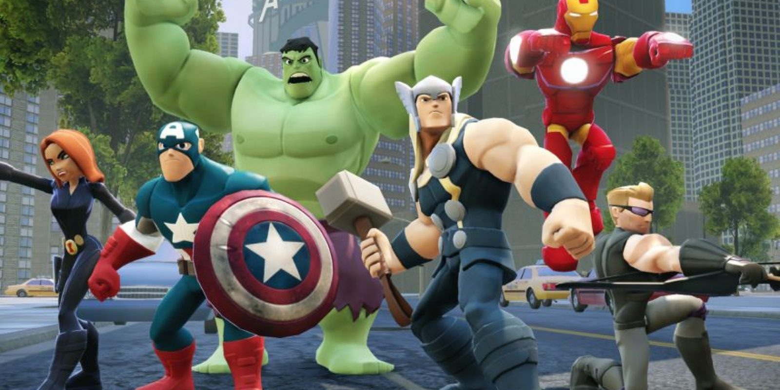 Los personajes de los Avengers son la atracción Foto:Disney Infinity 2.0