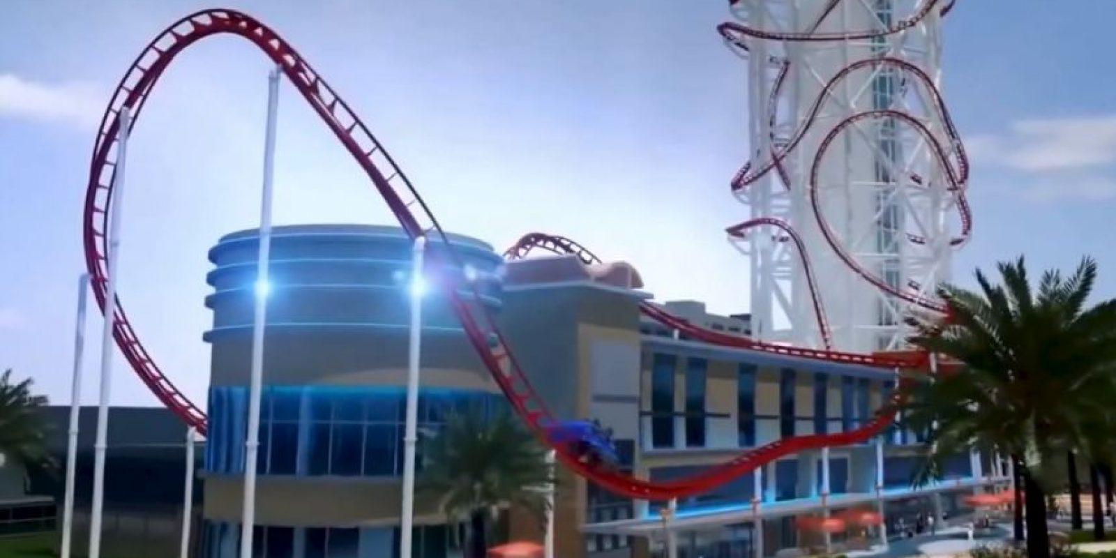 Skyscraper se ubicará en el parque de diversiones SkyPlex complex en Orlando, Florida Foto:YouTube/ animación