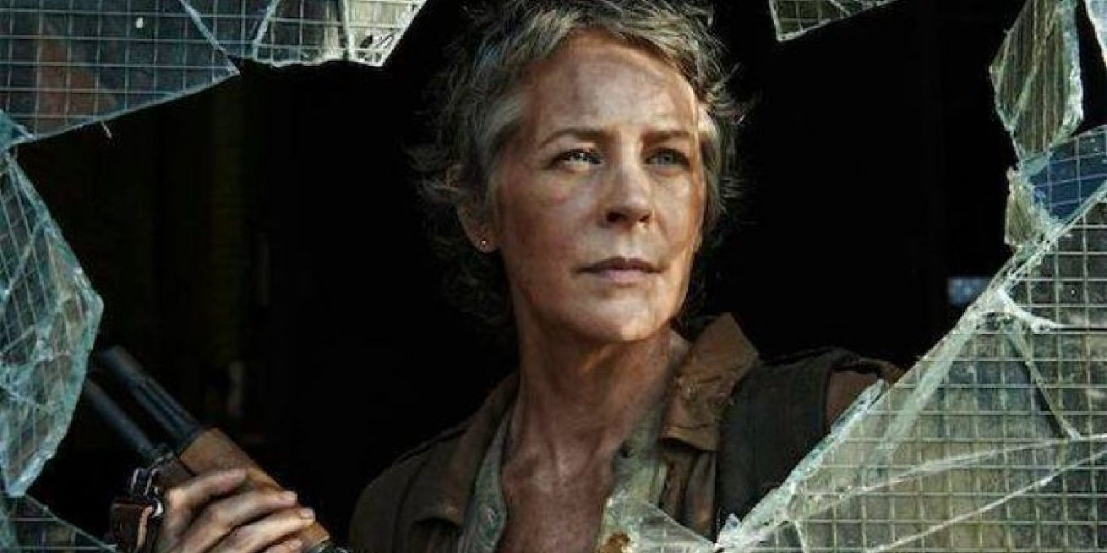 En la serie, Carol no muere y su hija es convertida en zombie. Foto:Facebook